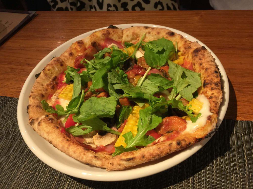 シェフの気まぐれピザの画像
